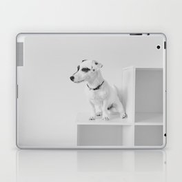 Puppy watching Laptop & iPad Skin