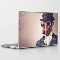 steampunk Laptop & iPad Skins featuring Steampunk by FalcaoLucas