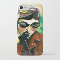 amelie iPhone & iPod Cases featuring Amelie by Gra Pereira
