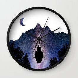 The Bright Dark Side Wall Clock