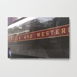 Strasburg Railroad Series 3 Metal Print