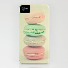 Four Macarons iPhone (4, 4s) Slim Case