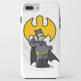 bat-homer: the Simpsons superheroes iPhone Case