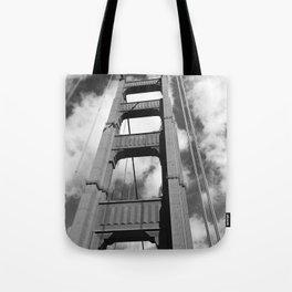 Golden Gate B/W Tote Bag
