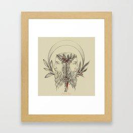 Janus Bifrons Framed Art Print