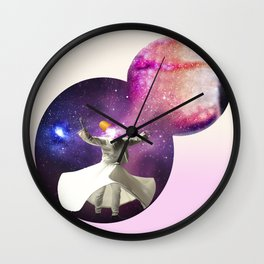 The eye of the dervish Wall Clock