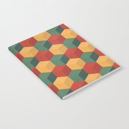 Retro Cubic Notebook