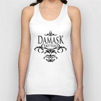 damask Tank Tops featuring Damask Tattoo  by Damask Tattoo