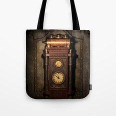 Steampunk Generator Bronze Tote Bag