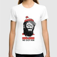 waldo T-shirts featuring We Got Him by Nikoby