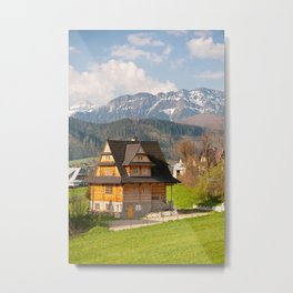village in Tatra Country Metal Print