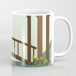 morning stroll in the springtime Coffee Mug