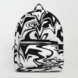 snow and shadow, abstract Backpack