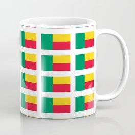Flag of benin-beninese,beninois,benines,dahomey,fon,yoruba,Cotonou,Fula Coffee Mug