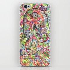 Basura Cerebro iPhone & iPod Skin