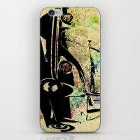 beetle iPhone & iPod Skins featuring Beetle by Del Vecchio Art by Aureo Del Vecchio