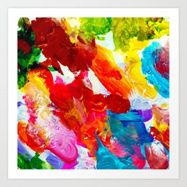 The Colors of my Life Art Print