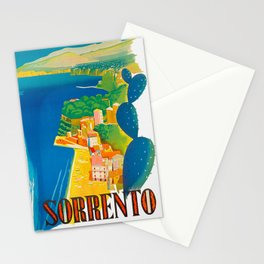 Sorrento Italy ~ Vintage Travel Poster Stationery Cards