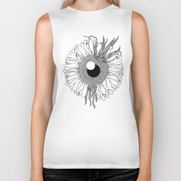 I See Beauty Until the End Biker Tank
