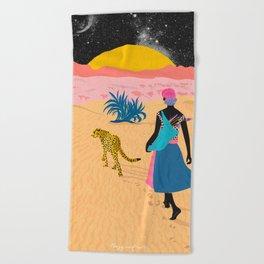 Desert_ Beach Towel
