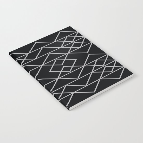 Triangles In Silver Notebook