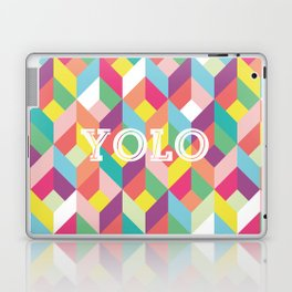 YOLO Geometric Laptop & iPad Skin