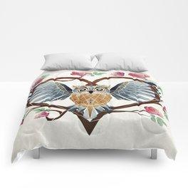 lovely owl Comforters