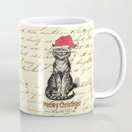 Meowy Christmas Holiday Kitty Coffee Mug