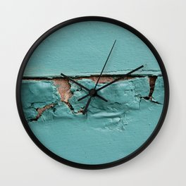 Too Much Paint Wall Clock