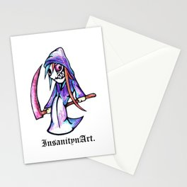 Insanity n Art's Original Reaper. Character Art. Stationery Cards