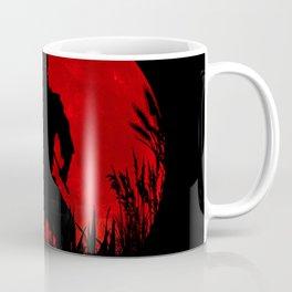 Red Moon Ninja Coffee Mug