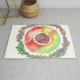 170321 Spring Watercolour 16 Rug