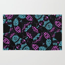 Ornate Dark Pattern  Rug