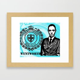 Vera Vinegar-tits Bennett Framed Art Print
