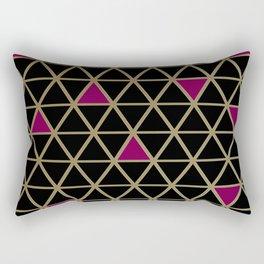 Golden Luxury Rectangular Pillow