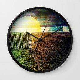 Dutch Dunes Wall Clock