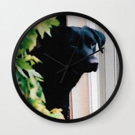 Black Lab Wall Clock