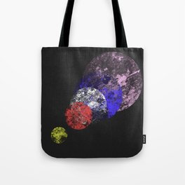 Aligned Universe - Space Abstract Tote Bag