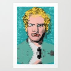 Art Is Anything You Can Get Away With Art Print