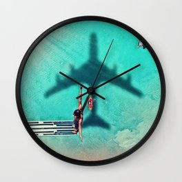 The Big Dive by GEN Z Wall Clock