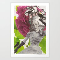 Crow's Nest - Collage Collections Art Print