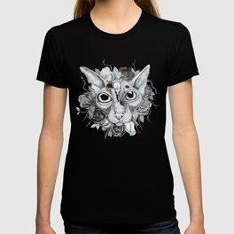 Kitty's Pretty Floral Mane T-shirt