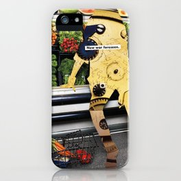 How can I eat three healthy, locally-sourced, home-cooked meals a day, exercise regularly, do my mak iPhone Case