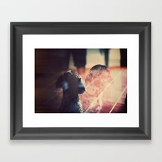 Billy Sad Eyes Framed Art Print