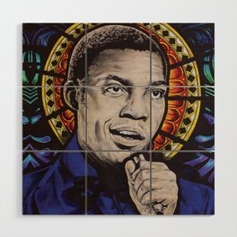 Desmond Dekker Wood Wall Art