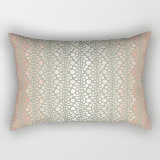 Retro Dotted Pattern 06 Rectangular Pillow