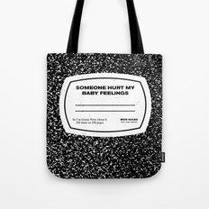 My Feelings Tote Bag