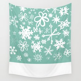 Snowflake Pond Wall Tapestry