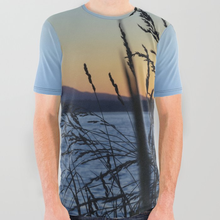 Sunset_Sea_Grass_All_Over_Graphic_Tee_by_RichardLawrencePhoto__Small