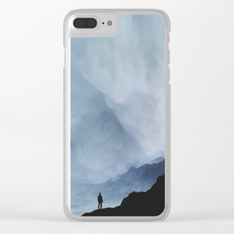Nothing Easy Clear iPhone Case